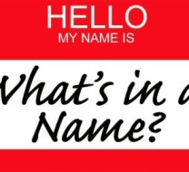 What is in a name